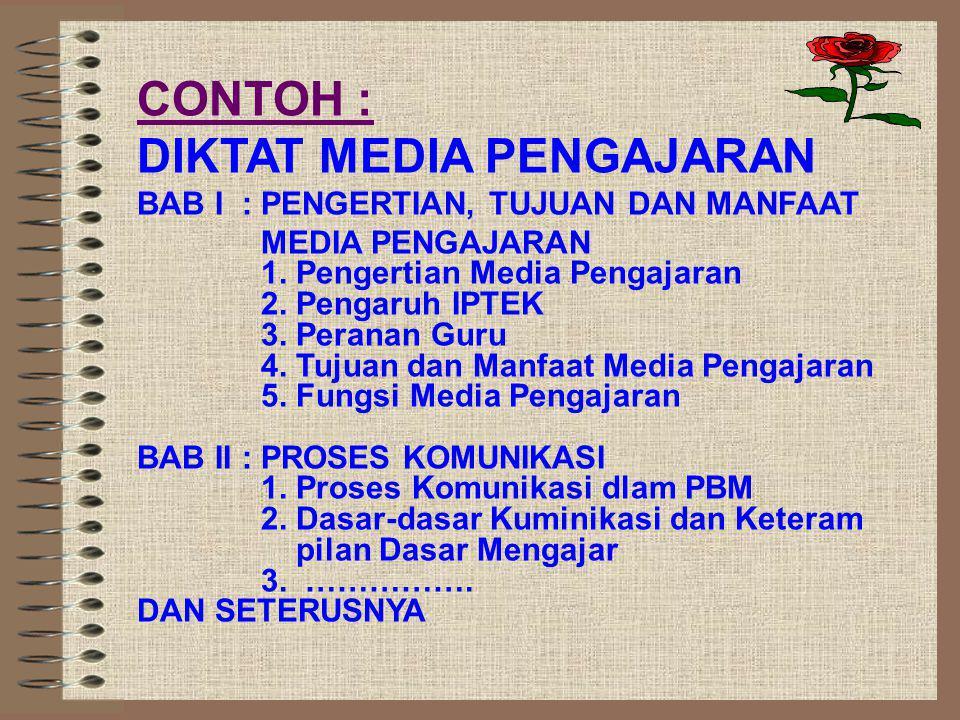 DIKTAT MEDIA PENGAJARAN