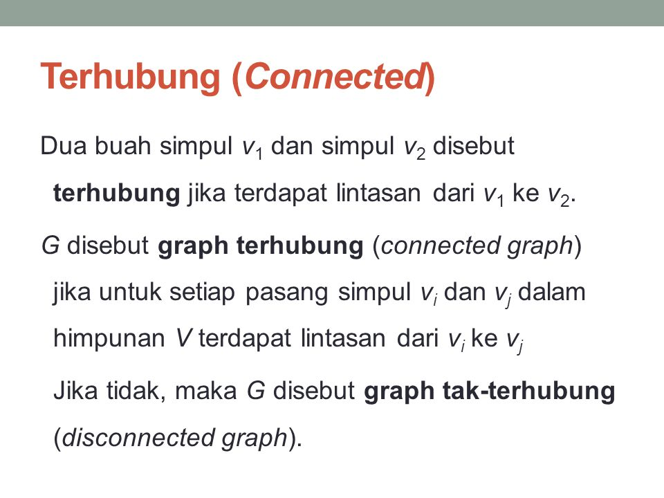 Terhubung (Connected)