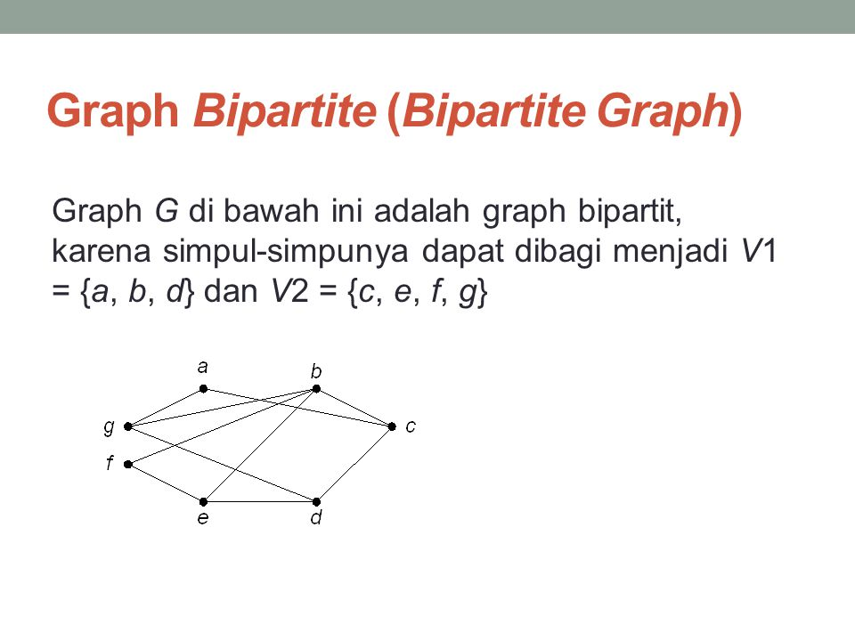 Graph Bipartite (Bipartite Graph)