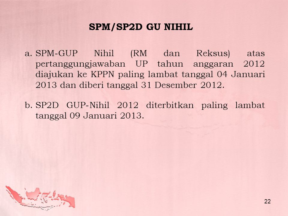 SPM/SP2D GU NIHIL