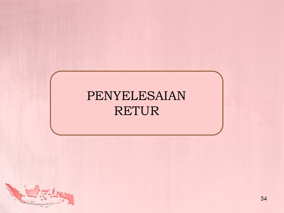 PENYELESAIAN RETUR