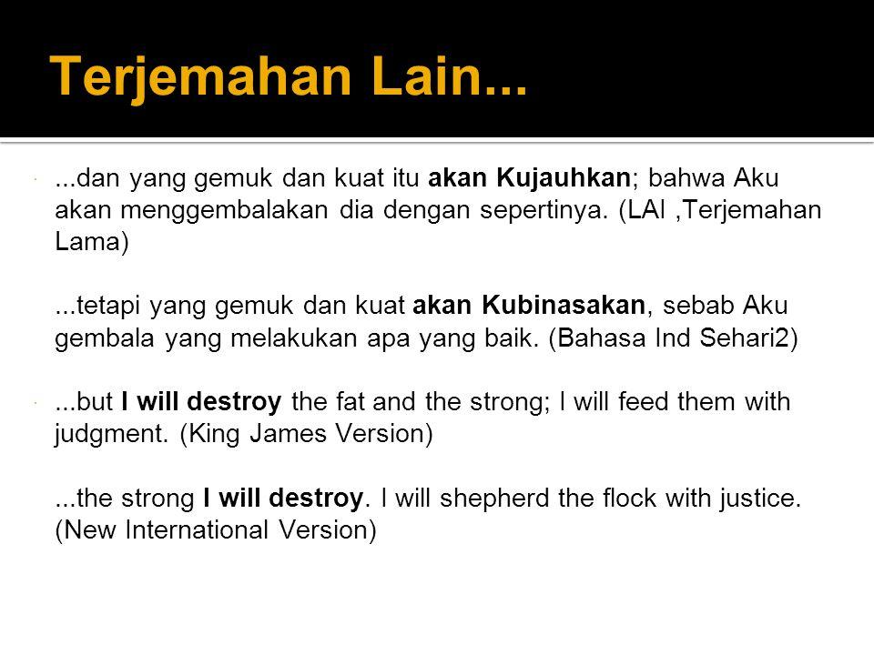 Terjemahan Lain...