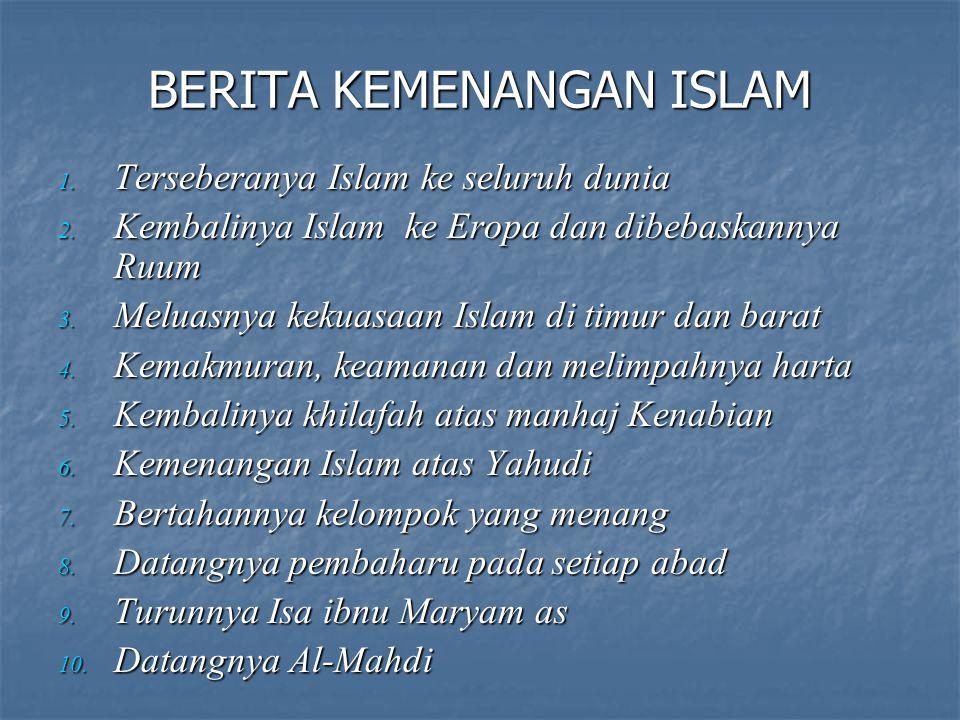 BERITA KEMENANGAN ISLAM