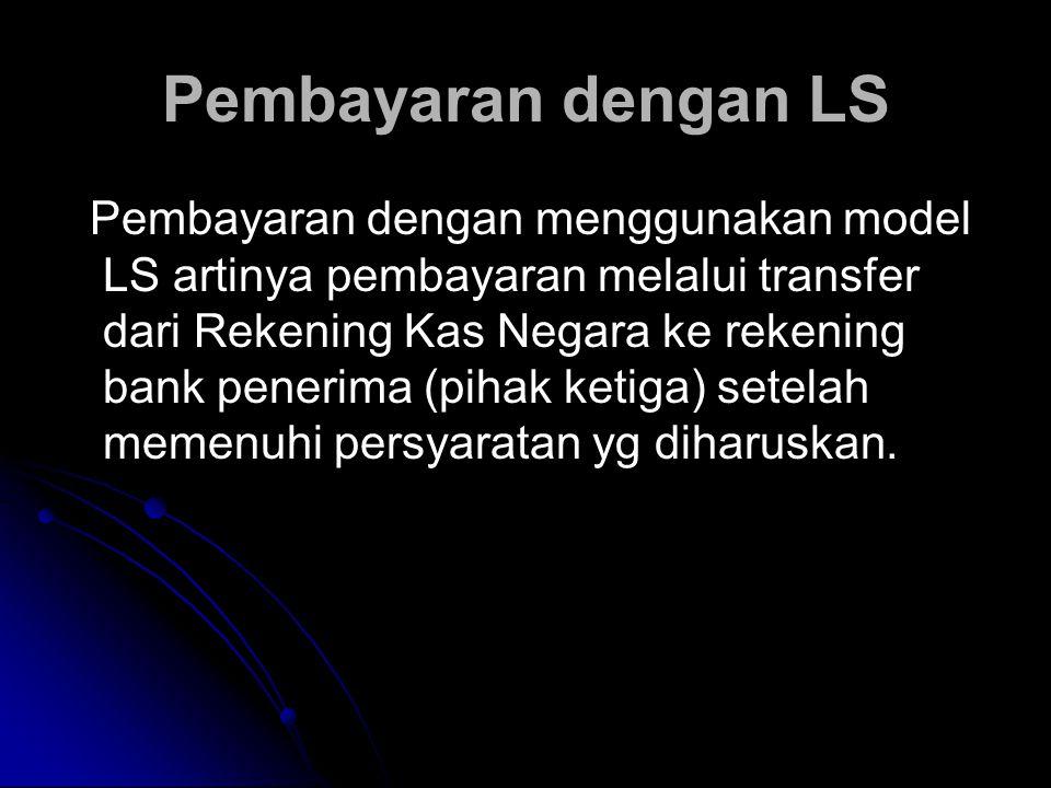Pembayaran dengan LS