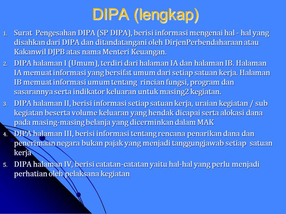 DIPA (lengkap)