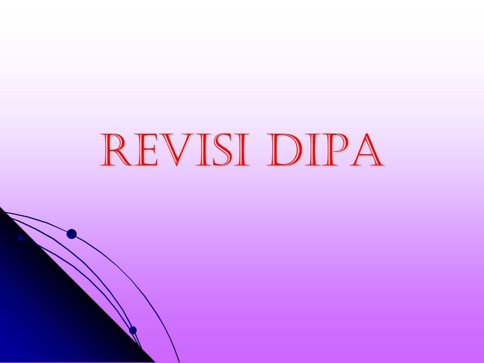 REVISI DIPA