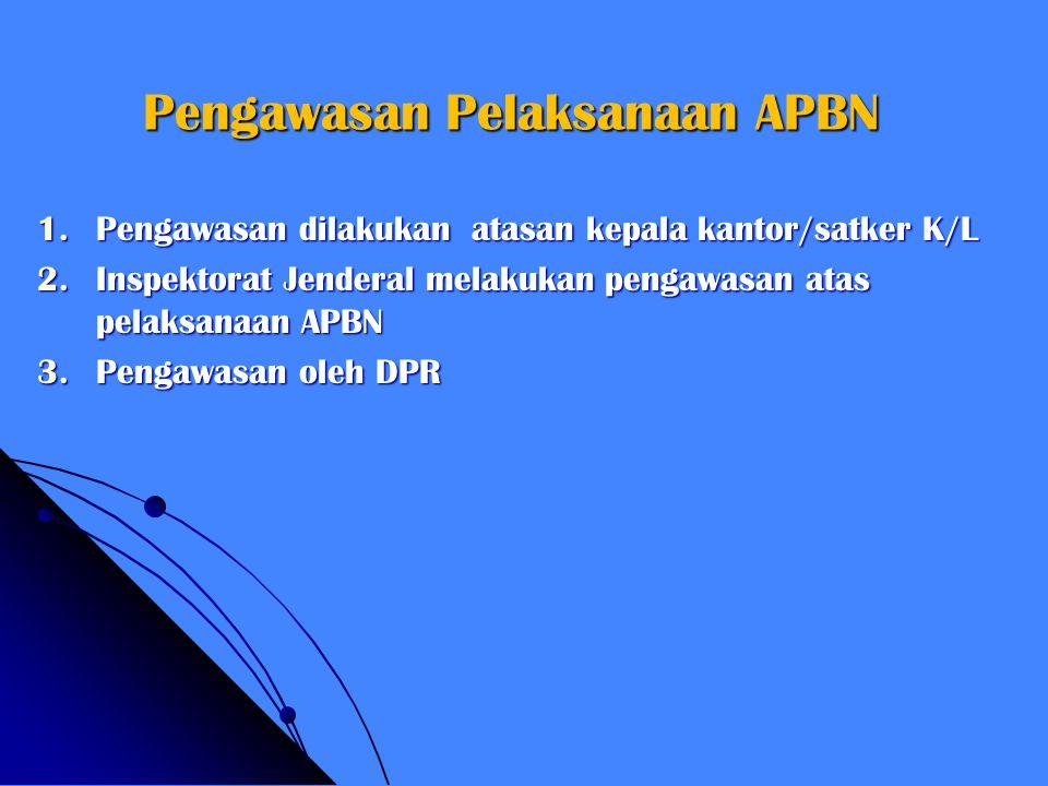 Pengawasan Pelaksanaan APBN