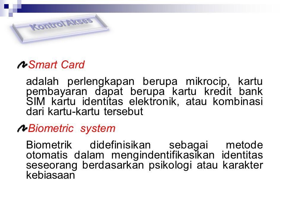 Kontrol Akses Smart Card