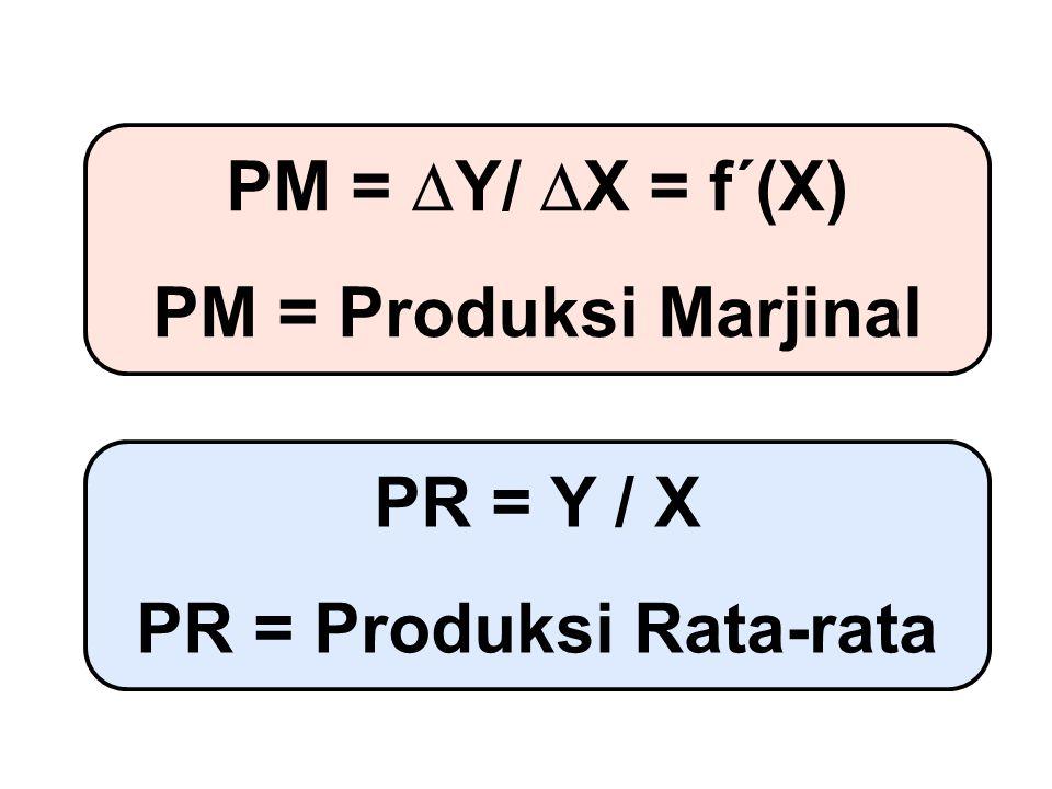 PR = Produksi Rata-rata
