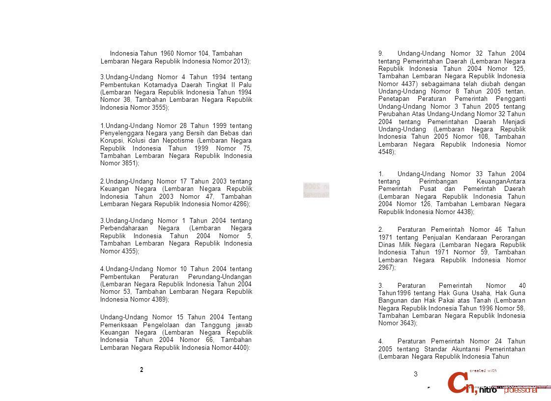 Indonesia Tahun 1960 Nomor 104, Tambahan Lembaran Negara Republik Indonesia Nomor 2013);
