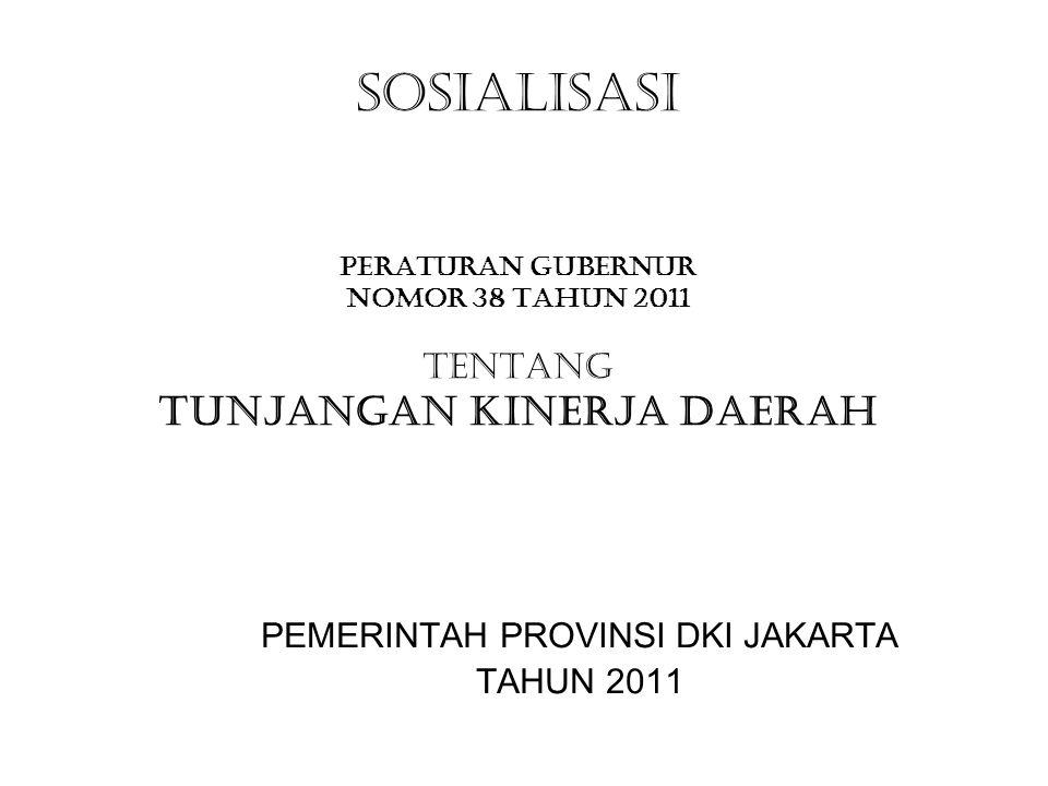 PEMERINTAH PROVINSI DKI JAKARTA TAHUN 2011