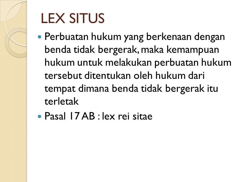 LEX SITUS