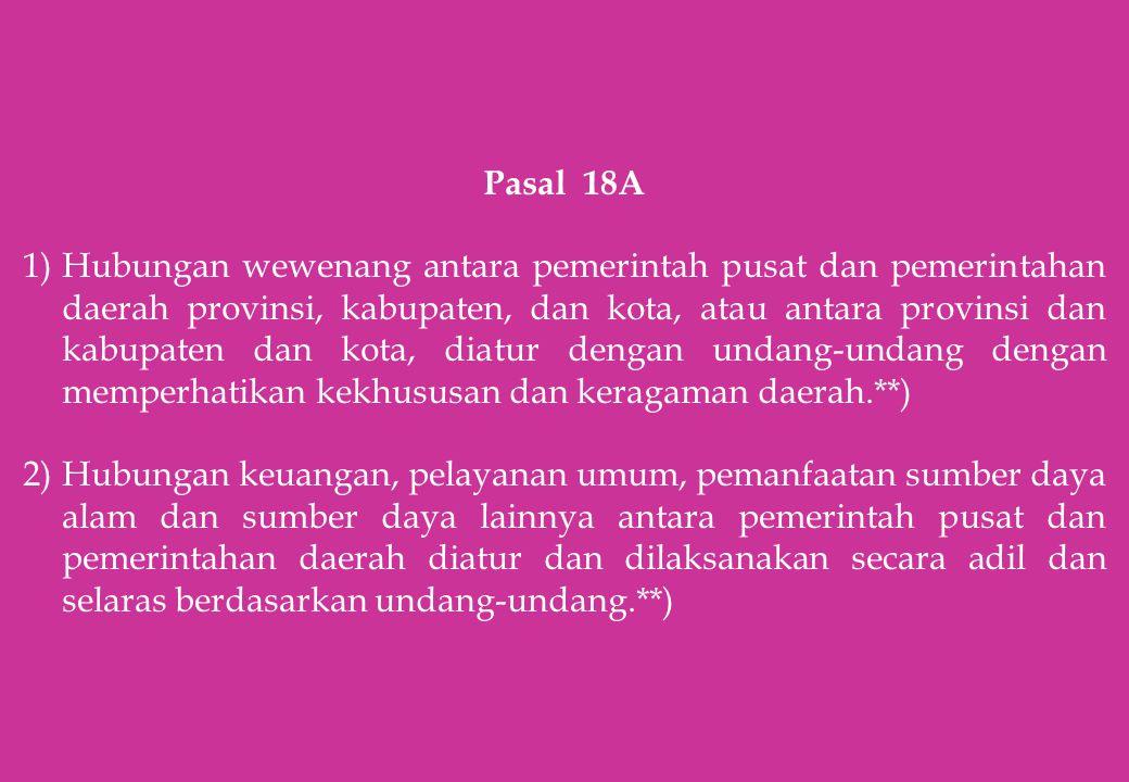 Pasal 18A