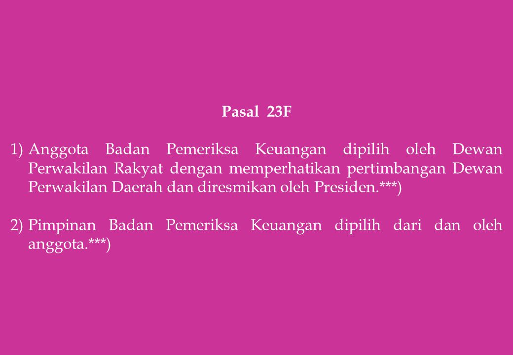 Pasal 23F