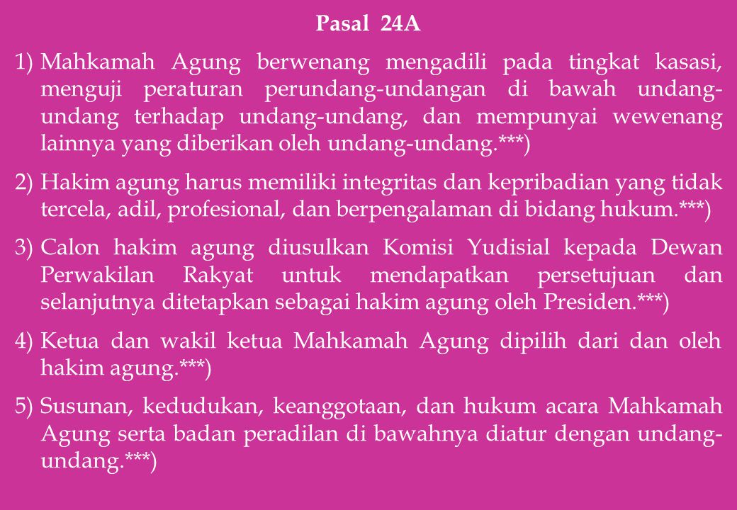 Pasal 24A