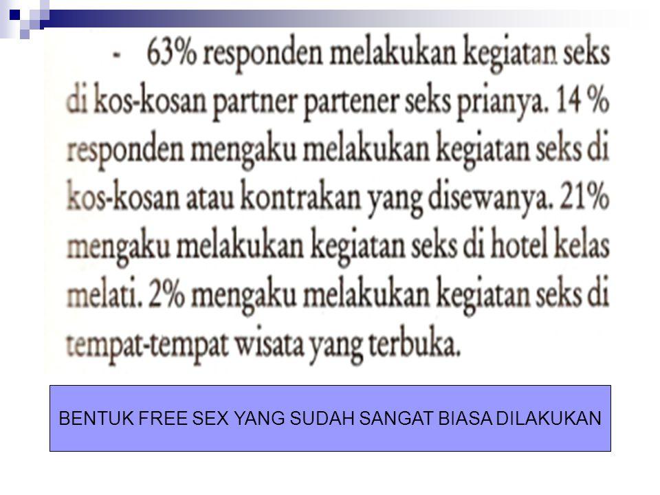 BENTUK FREE SEX YANG SUDAH SANGAT BIASA DILAKUKAN