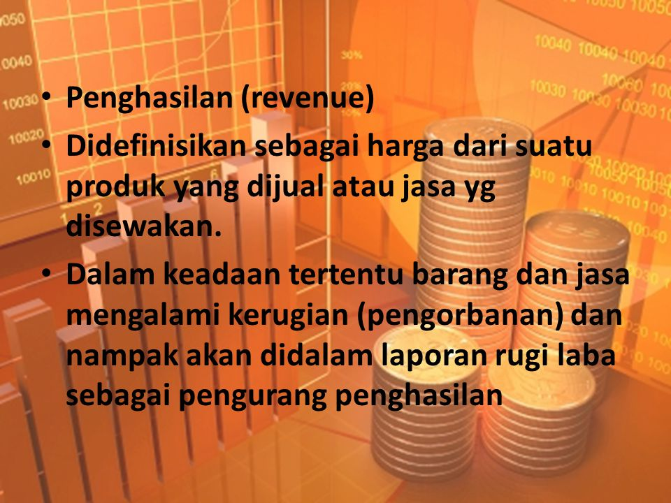 Penghasilan (revenue)
