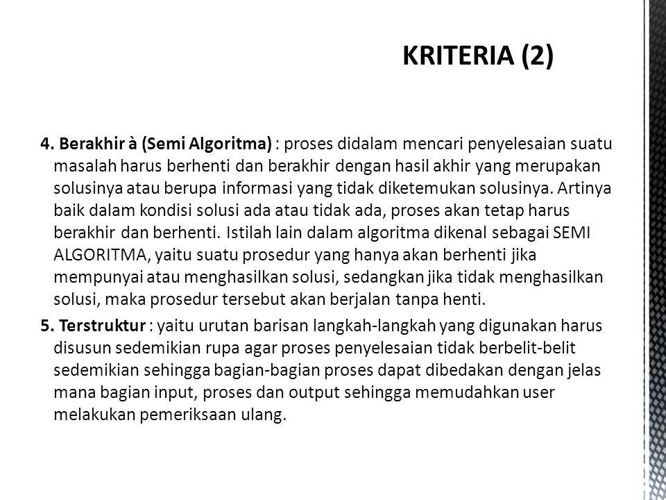 KRITERIA (2)