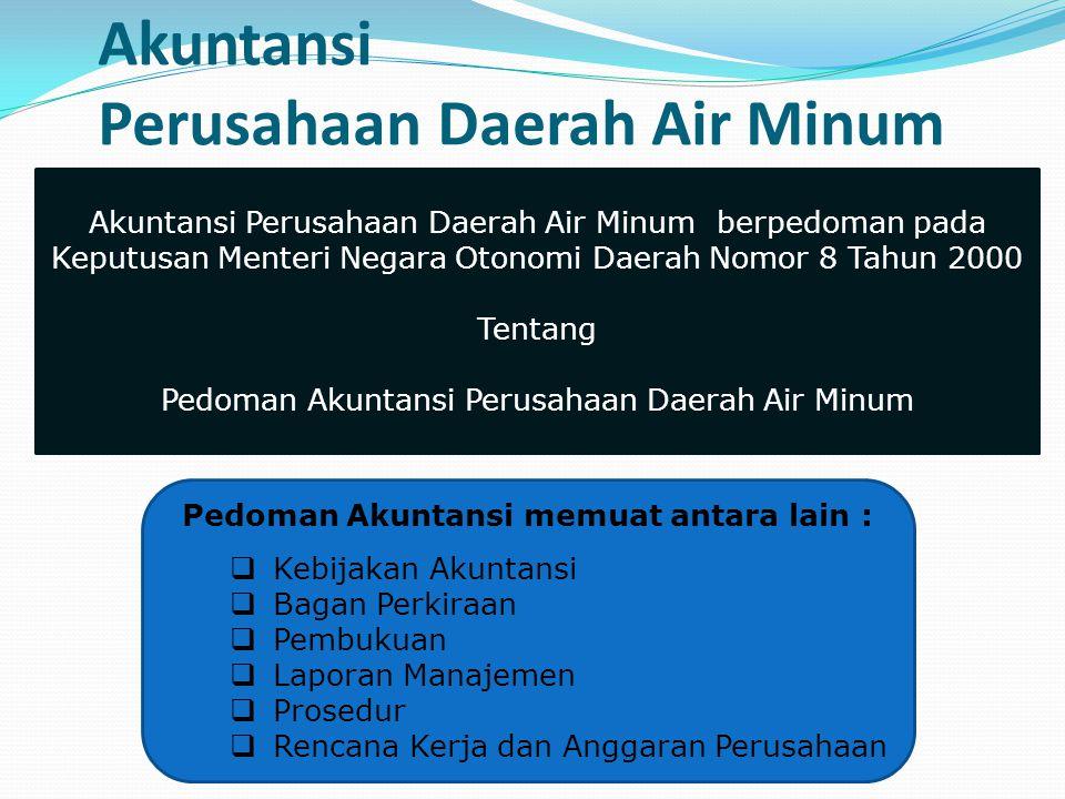Akuntansi Perusahaan Daerah Air Minum