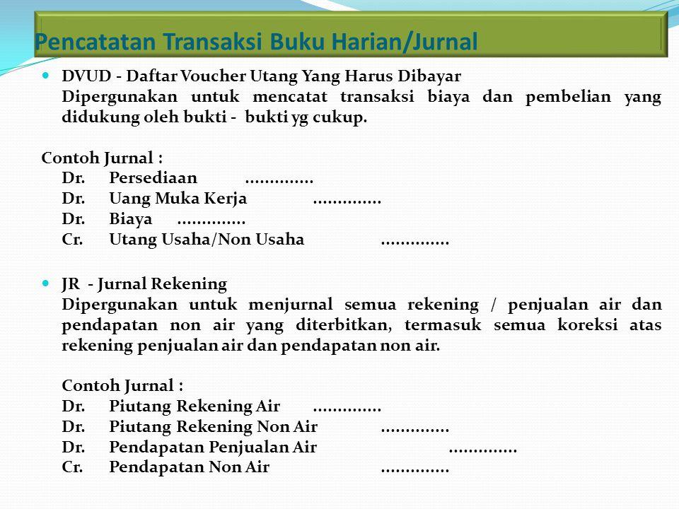 Pencatatan Transaksi Buku Harian/Jurnal