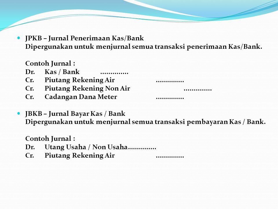 JPKB – Jurnal Penerimaan Kas/Bank