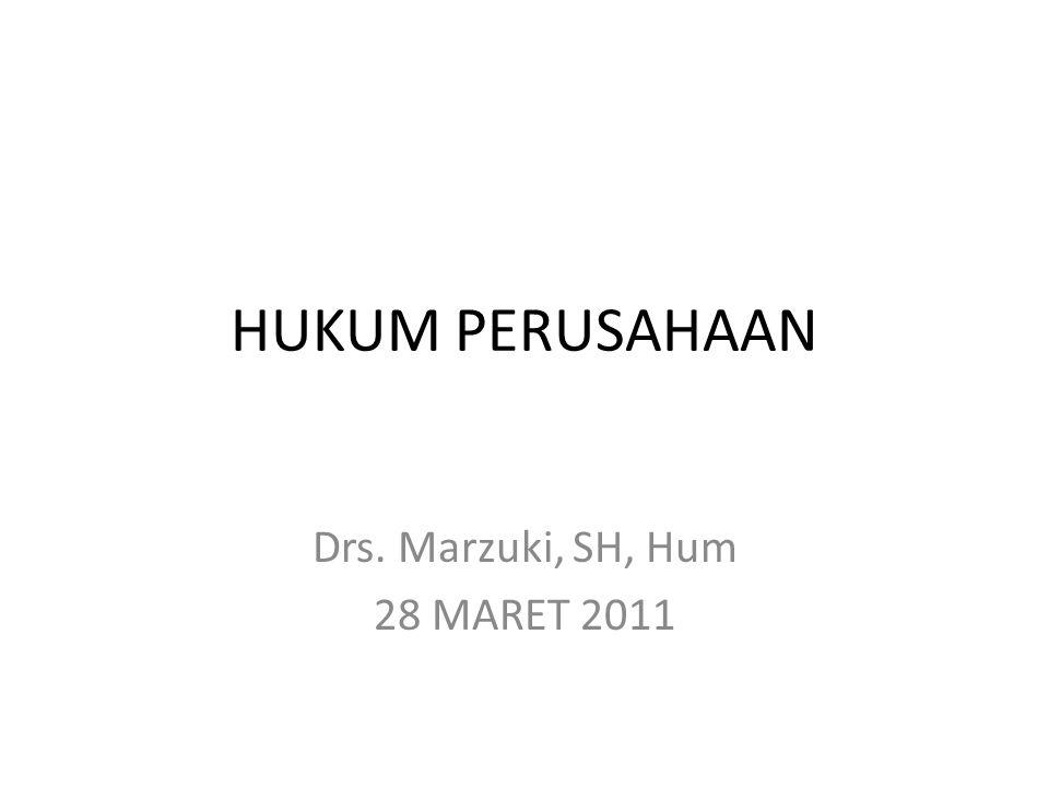 Drs. Marzuki, SH, Hum 28 MARET 2011