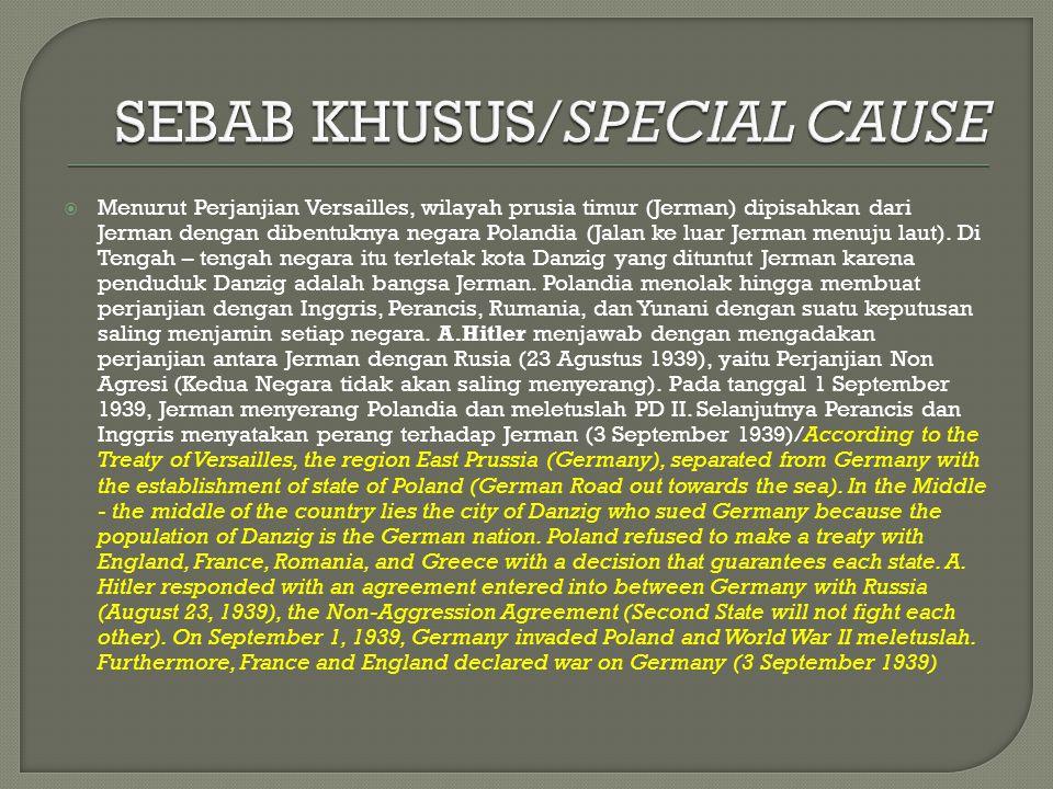 SEBAB KHUSUS/SPECIAL CAUSE