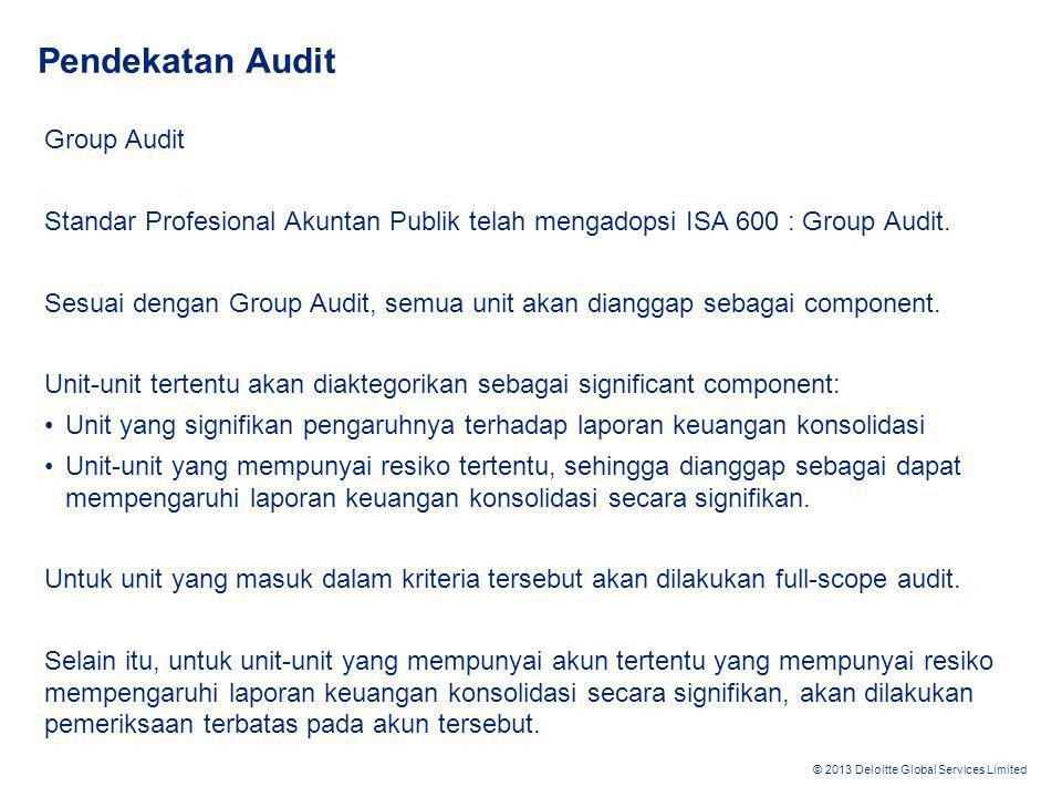 Pendekatan Audit Group Audit