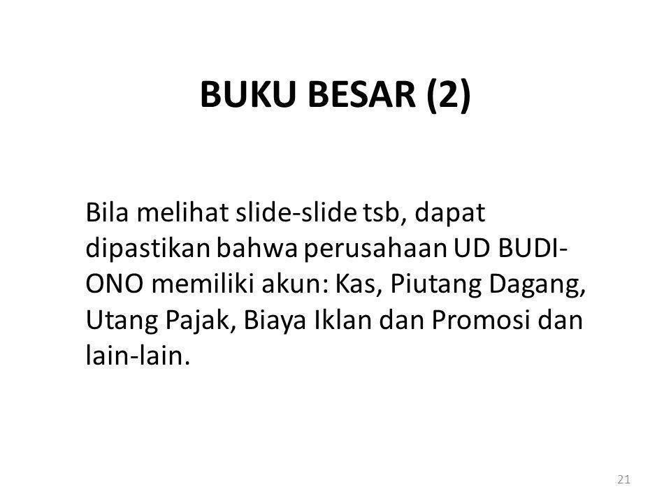 BUKU BESAR (2)