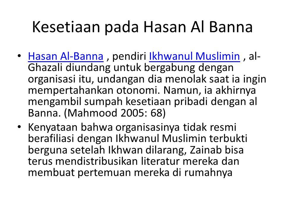 Kesetiaan pada Hasan Al Banna