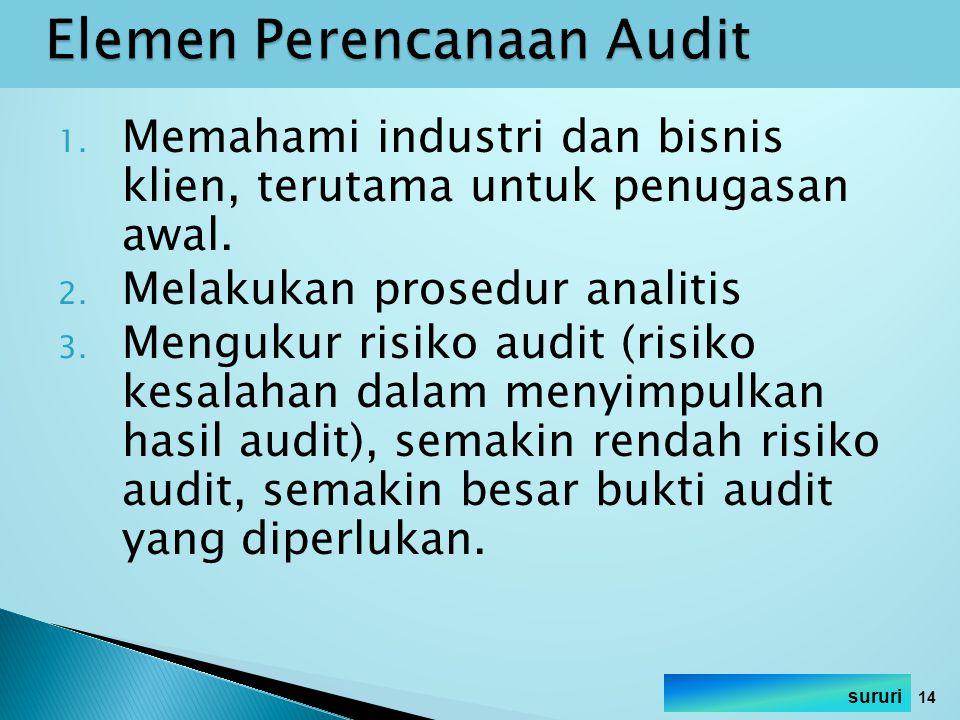 Elemen Perencanaan Audit