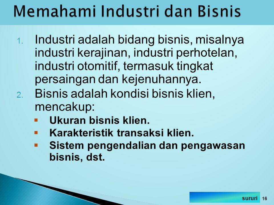 Memahami Industri dan Bisnis