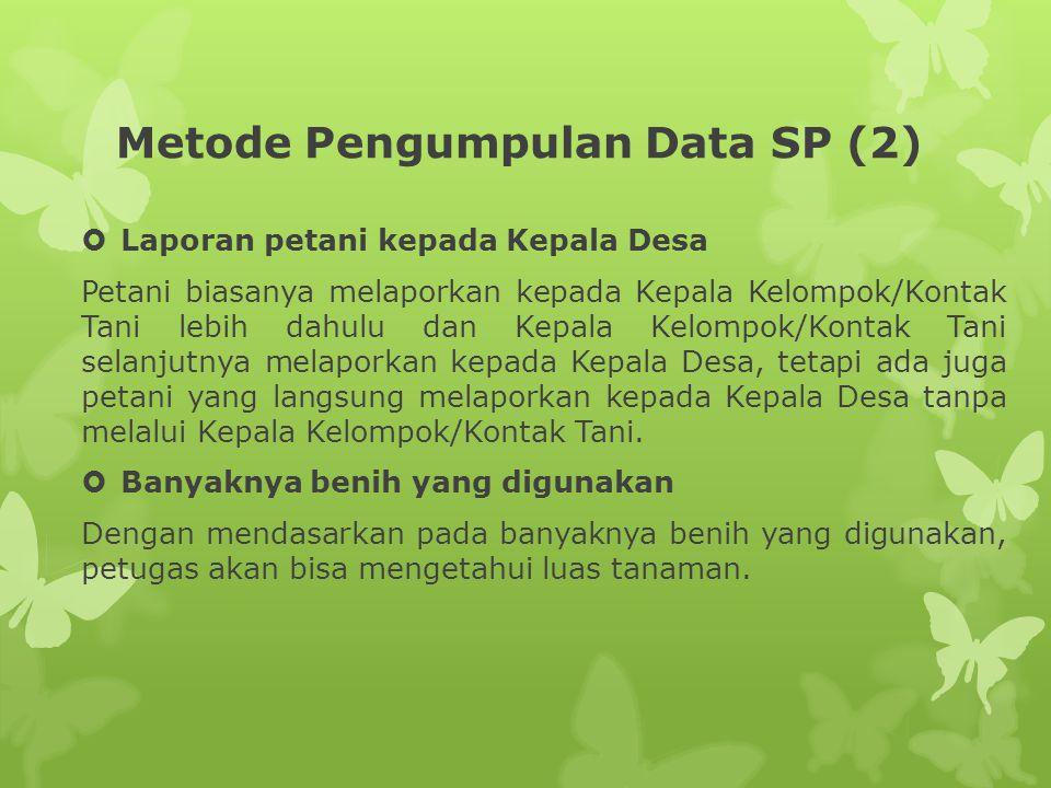 Metode Pengumpulan Data SP (2)