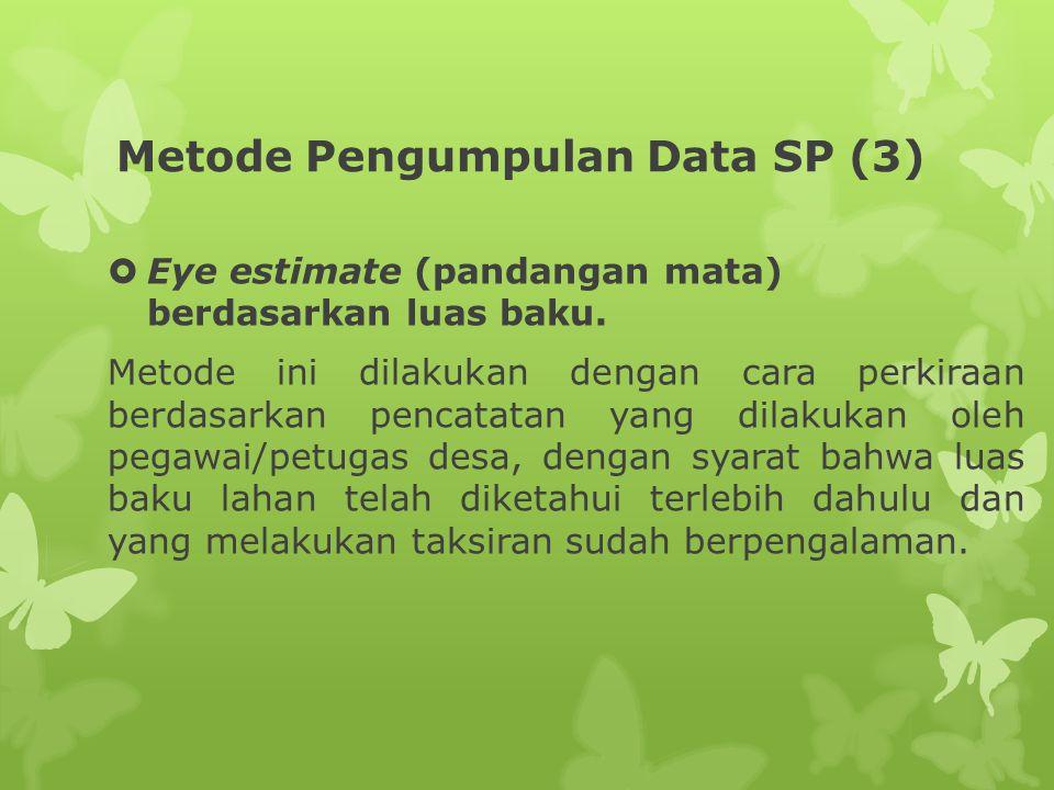 Metode Pengumpulan Data SP (3)