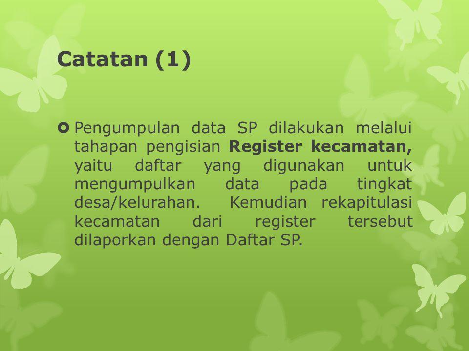 Catatan (1)