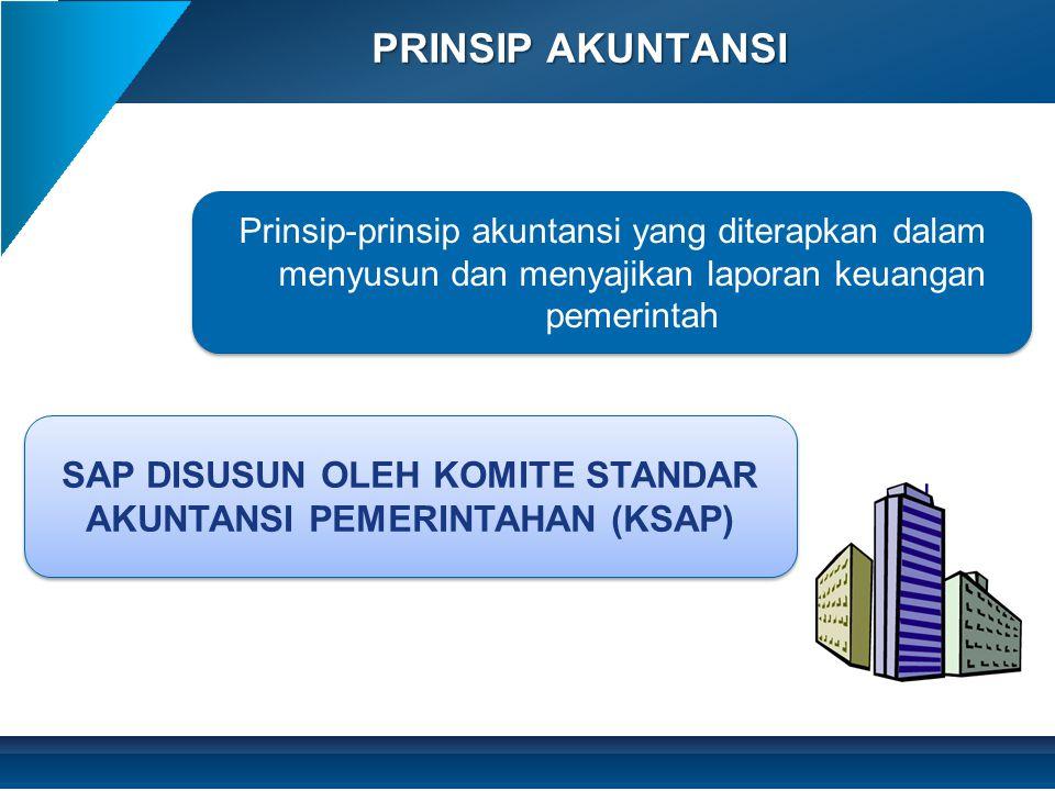SAP DISUSUN OLEH KOMITE STANDAR AKUNTANSI PEMERINTAHAN (KSAP)