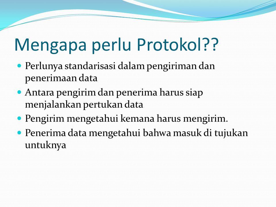 Mengapa perlu Protokol