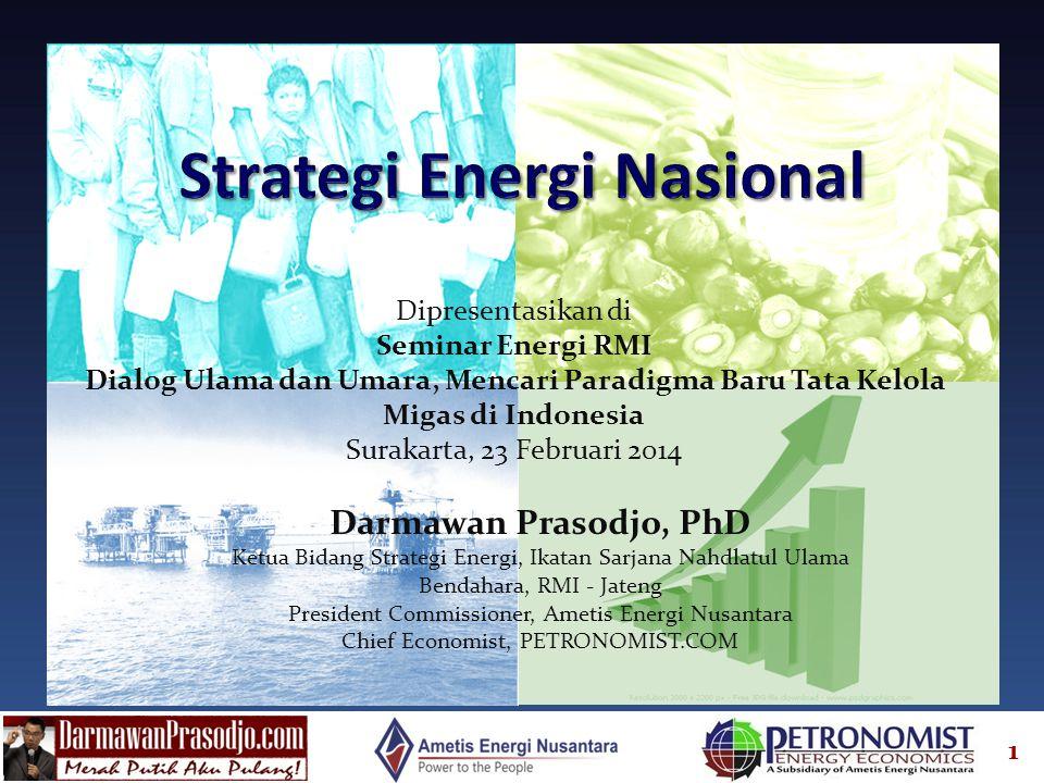 Strategi Energi Nasional