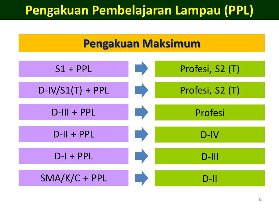 Pengakuan Pembelajaran Lampau (PPL)