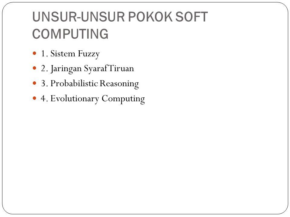 UNSUR-UNSUR POKOK SOFT COMPUTING