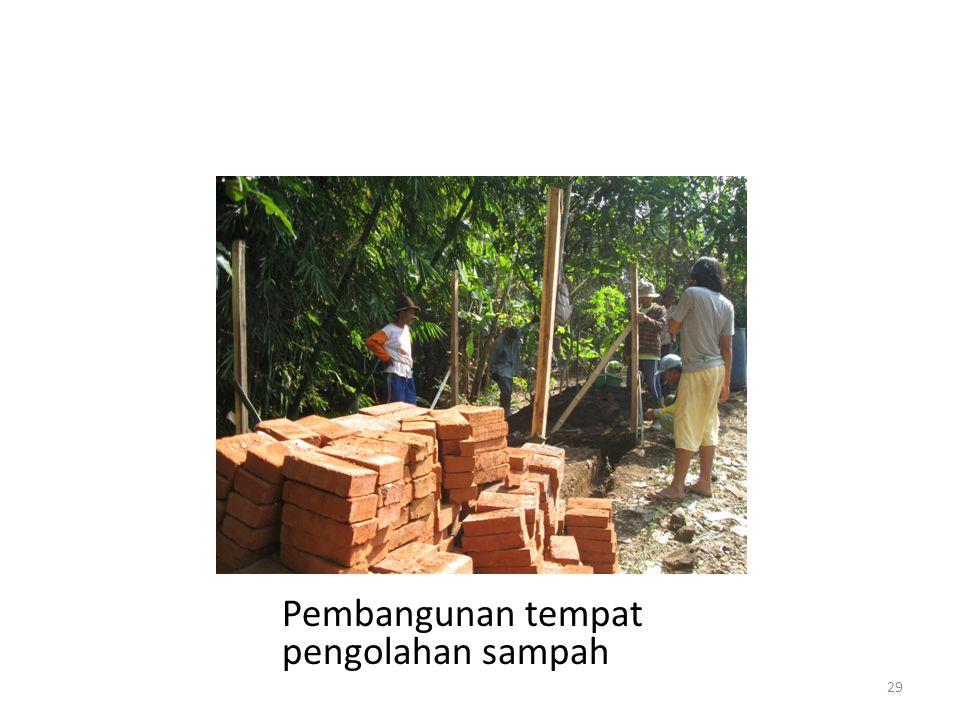 Pembangunan tempat pengolahan sampah