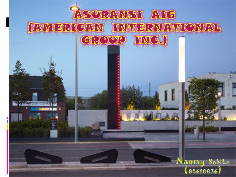 ASURANSI AIG (AMERICAN INTERNATIONAL GROUP INC.)