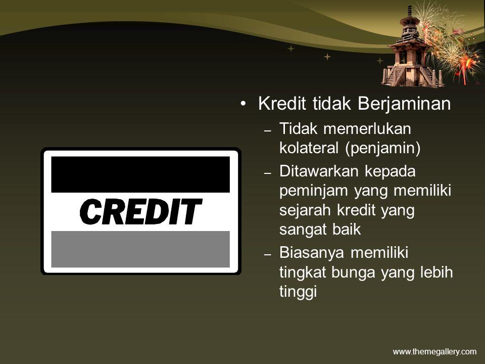 Kredit tidak Berjaminan