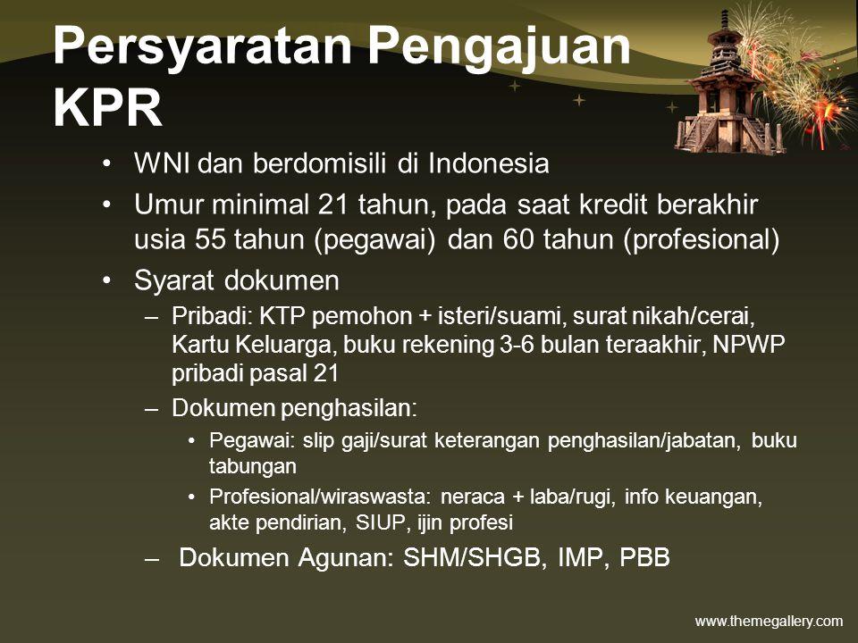 Persyaratan Pengajuan KPR