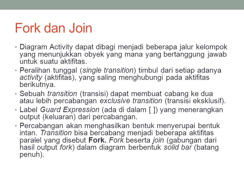 Fork dan Join