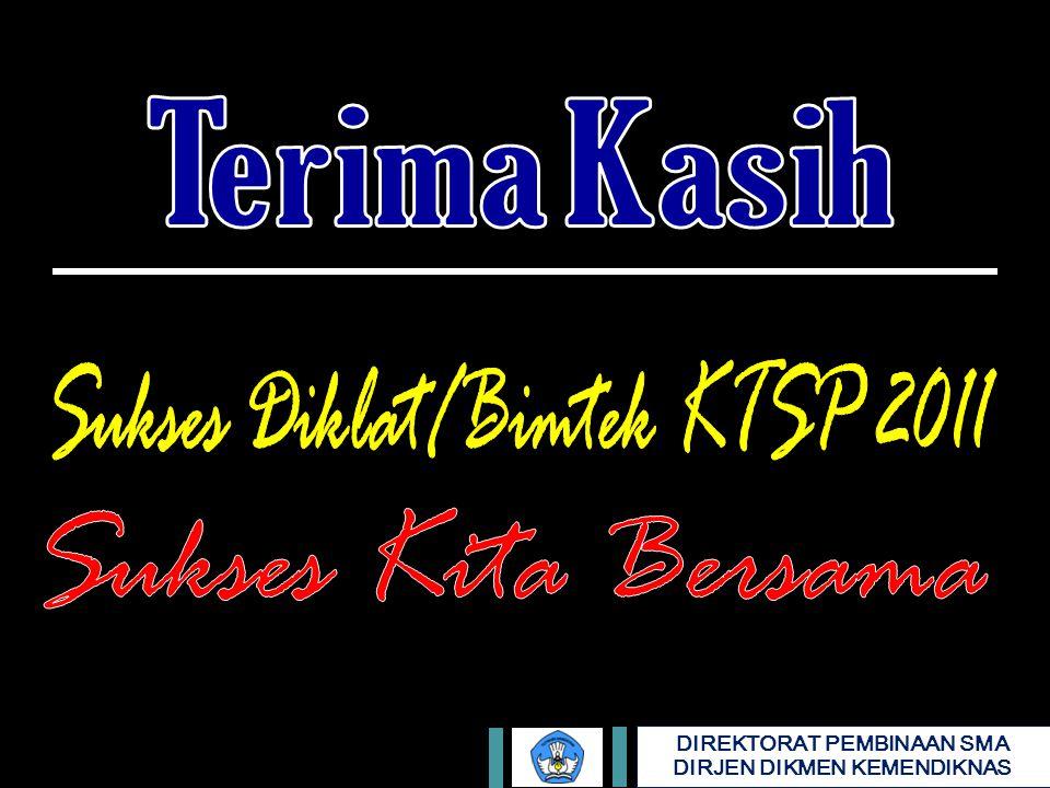 Sukses Diklat/Bimtek KTSP 2011