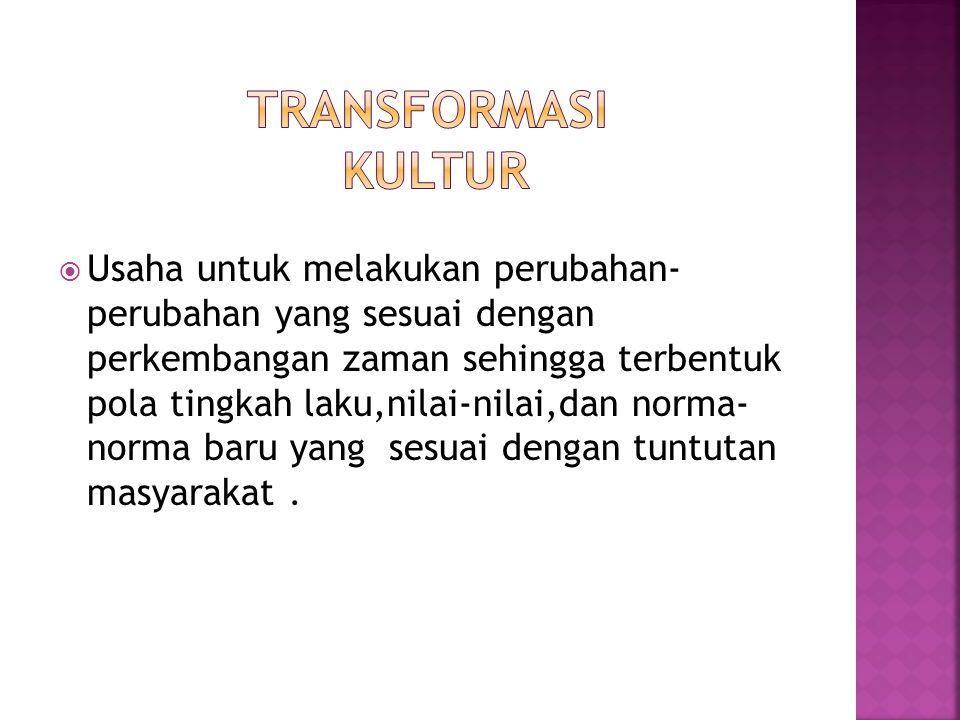 Transformasi kultur