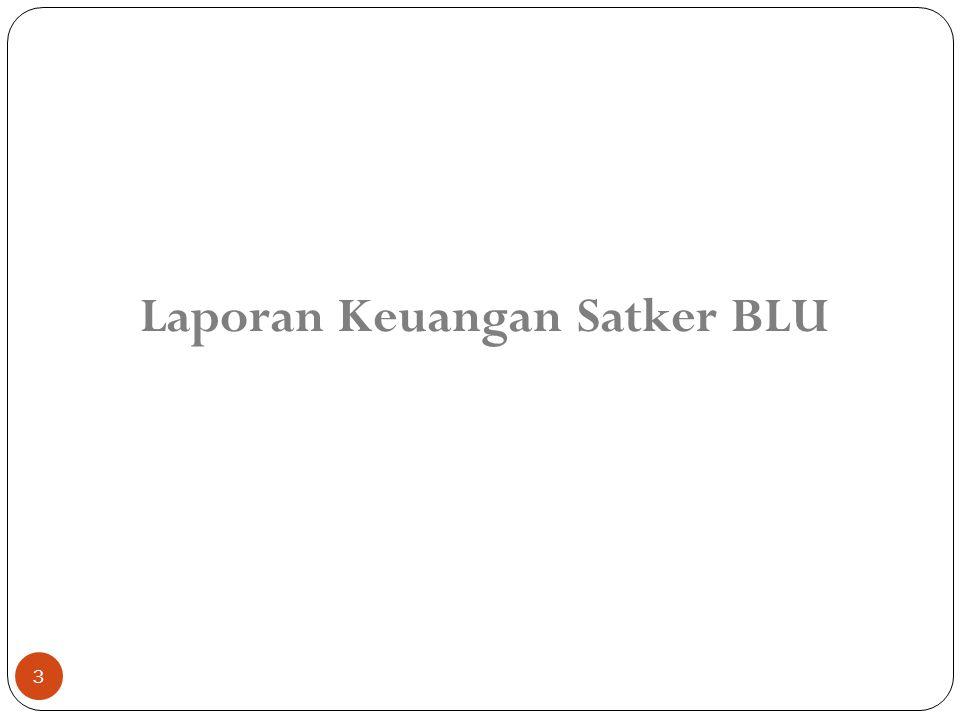 Laporan Keuangan Satker BLU
