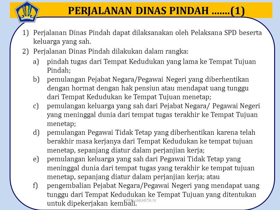 PERJALANAN DINAS PINDAH .......(1)