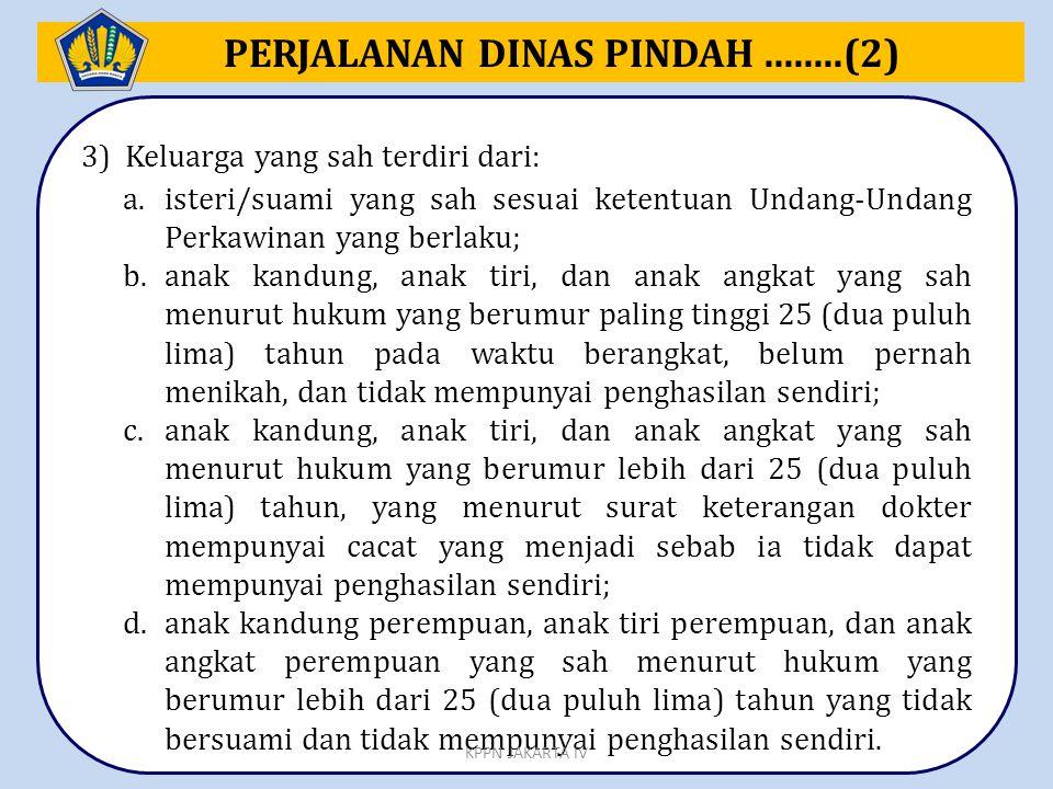 PERJALANAN DINAS PINDAH ........(2)